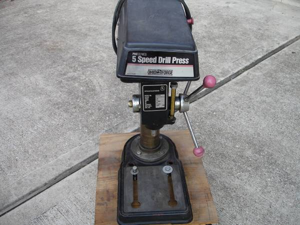 Ohio Forge 12 HP 5 Speed Drill Press  - $75 (Pearland)
