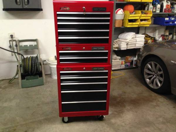 Craftsman Toolbox Top Middle and Bottom Units Chest Cabinet Tool Box - $430 (Magnolia)