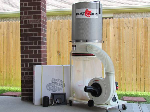 Jet Dust Dog Dust Collection System - $400 (League City I-45)