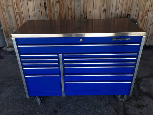 SNAP-ON TOOL BOX AND 38 CORDLESS IMPACTS - $1 (houston tx)