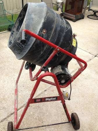 CEMENT MIXER 3.5 CUBIC FT. - $185