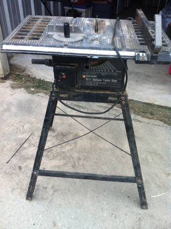 Craftsman 8-14 table saw - $100 (Spring )
