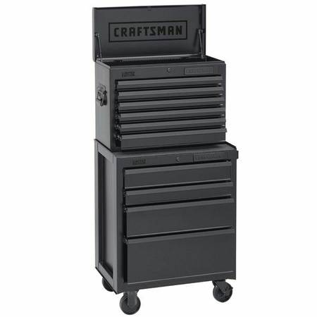 Craftsman Toolbox Chest Cabinet Top and Bottom Units Tool Box - $320 (Magnolia)