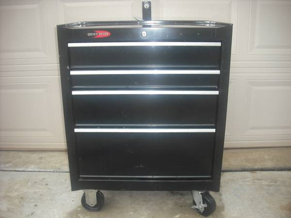 Black Quiet glide craftsman tool box for sale - $95 (sugar land )
