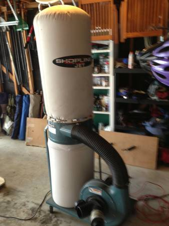 Jet 1.5HP Dust Collector - $300 (The Woodlands)