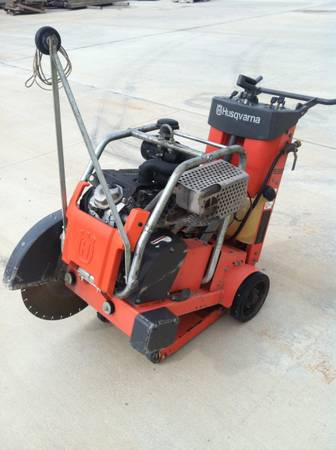 Concrete Saw. Husqvarna Walk behind 20 hp Honda - $2975 (Houston)