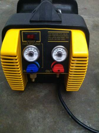 APPION G5 TWIN HVAC RECOVERY MACHINE - $350 (S.E HOUSTON)