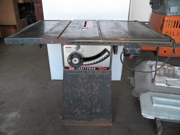 Sears Craftsman 10 Table Saw - $100 (spring tx)