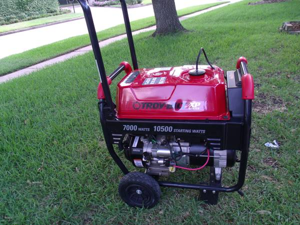 Troy-Bilt XP 7,000 Watts eletric start Generator - $675 (Richmond Tx)