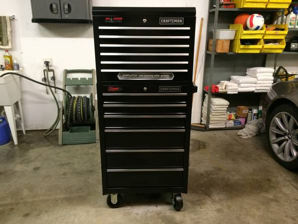 Craftsman Toolbox Top and Bottom Units Chest Cabinet Tool Box - $395 (Magnolia)