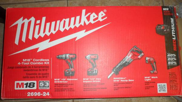 Milwaukee Tool set Brand New OBO - $750 (Katy)