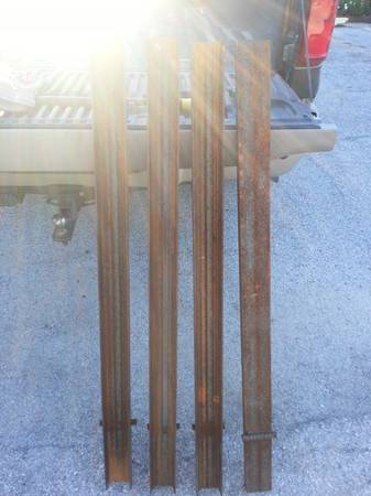 4 C channel pipe stakes - $100 (Houston)