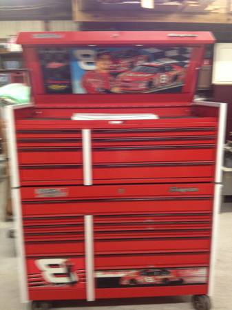 Snap on tool boxes. Dale Earnhardt jr limited edition - $4500 (Katy)