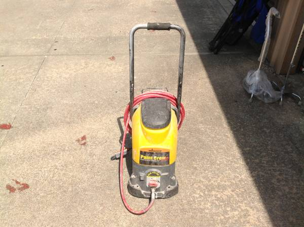 WAGNER PAINT CREW PLUS AIRLESS SPRAYER MODEL 0504124 - $85 (WESTHEIMER SOUTH DAIRY ASHFORD)