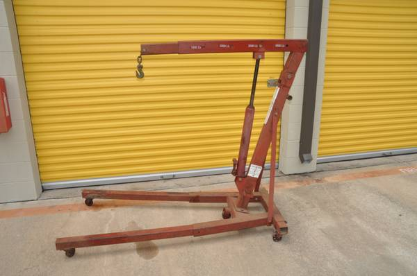 5000 LB Engine Lift - Heavy Duty COMMERCIAL GRADE Motor Hoist - $225 (NW Houston)
