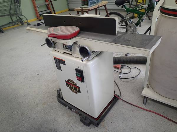 Jet - 6 Long Bead Jointer JJ 6CSX - $450 (Humble, Texas)