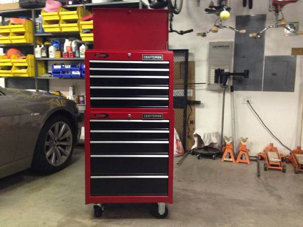 Craftsman Toolbox Top and Bottom Units Chest Cabinet Tool Box - $345 (Magnolia)