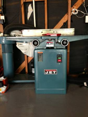 Jet JJ-6CSX Woodworking Jointer - $250 (The Woodlands, Texas)