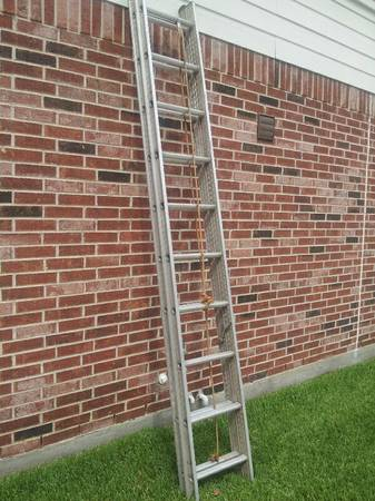 Keller aluminum 20 ft. extension ladder - $85 (woodlands)