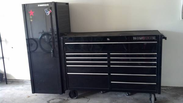 matco tool box side cabinet espotted. Black Bedroom Furniture Sets. Home Design Ideas
