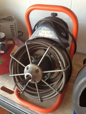 General Mini Rooter 12 x 50 Sewer Machine - $350 (Deer Park)