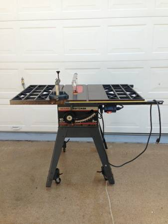 Sears Craftsman 10-Inch table Saw - $125 (Spring, Texas)