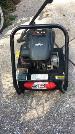 North Star Briggs Stratton Engine Pressure Washer PSI 2000 - $145