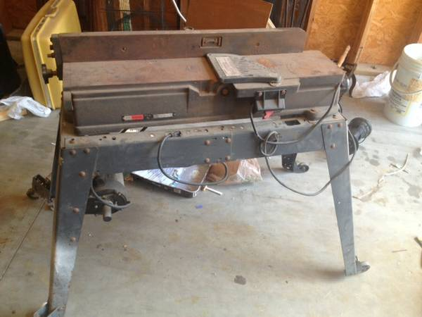 CRAFTSMAN 6 18-INCH JOINTER-PLANER - used - $150 (NW Houston)