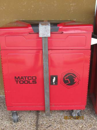 MATCO MUSCLE TOOL CART MSCL440-R - $500 (WEBSTER)