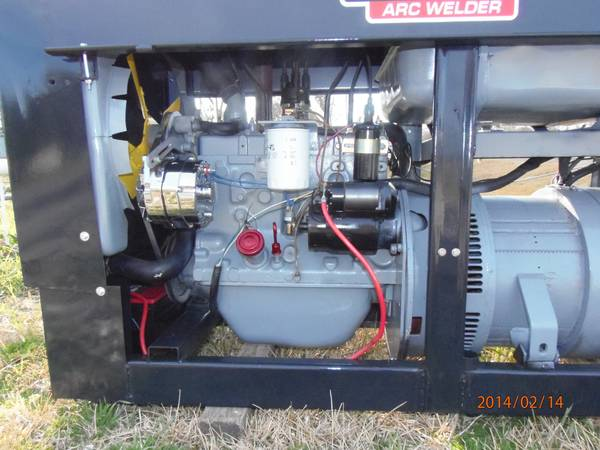 Lincoln SA-200 Welder Red face - x00247900 (Pearland)