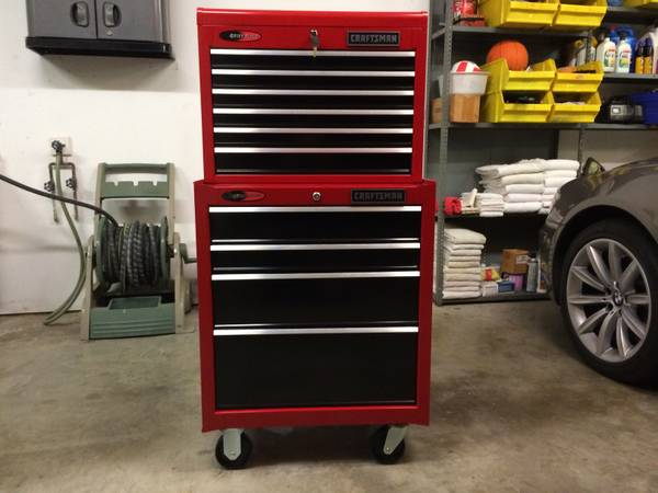 Craftsman Toolbox Top and Bottom Units Chest Cabinet Tool Box - $330 (Magnolia)
