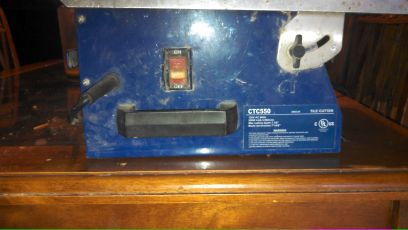 (ctc550 Tile Cutter machine) - $40 (North Houston )