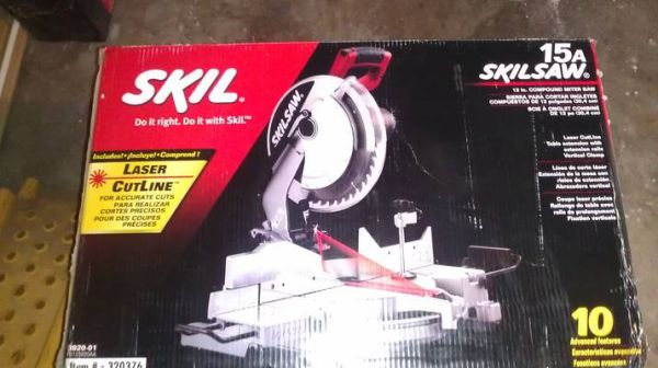 SKIL 12 Compound Miter saw - $175 (West Houston)