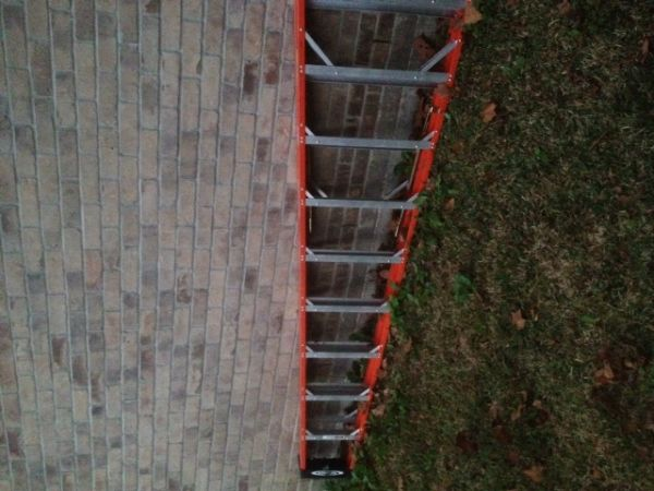 12 FT Werner Ladder Barely Used 2x - $225 (Crosby)