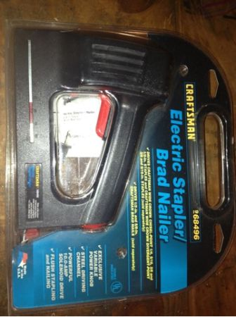 Craftsman Electric Stapler  Brad Nailer - $25 (Tomball The Woodlands)