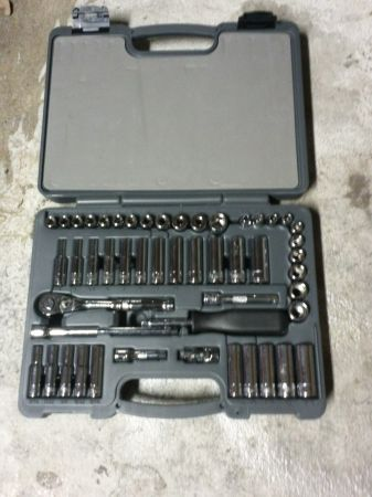 50 piece 14 in. ratchet set - $80 (barker cypress  529)