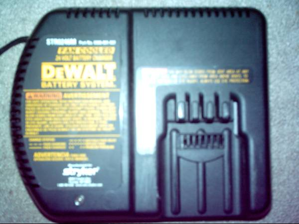 Dewalt 24 Volt Battery Charger - $20 (Northwest-Cypress)