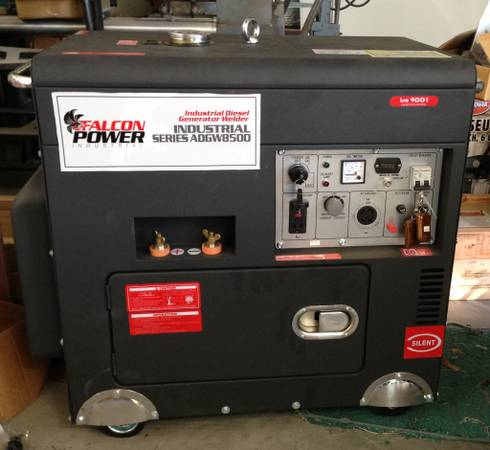 NEW Industrial Diesel GeneratorWelder (Falcon Power) - $6200 (HoustonCypress Texas)