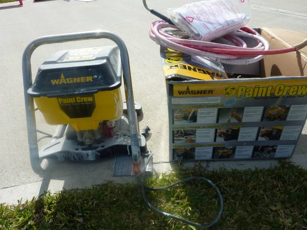 Wagner Paint Crew - $75 (east of Baytown)