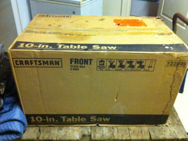 Table Saw Sears 10 - $400 (Spring)