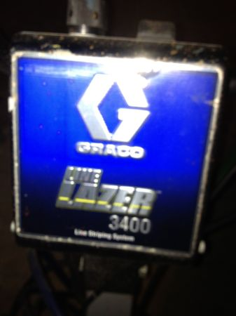Graco Line Lazer 3400 Striping Machine - $2750 (Manvel)