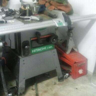 table saw Hitachi c10fl - $600 (Houston)