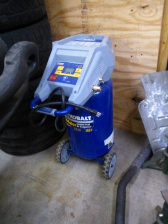 Air Compressor Kobalt 10 gallon 1.5hp - $60 (77080)