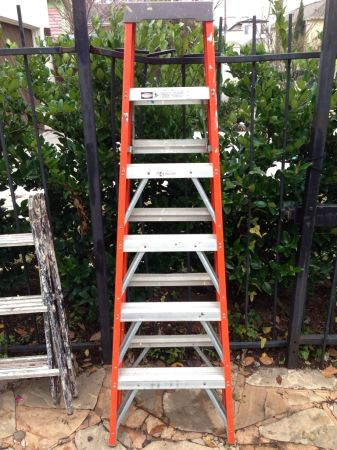 Twin Step Ladder 6ft