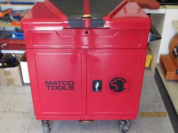 MATCO MUSCLE TOOL CART MSCL440-R - $700 (WEBSTER)