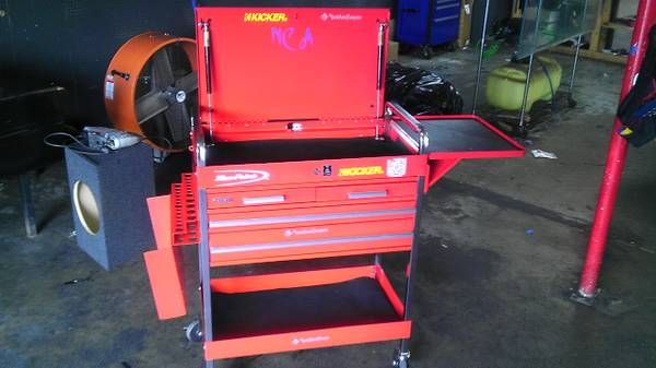 for sale or trade tool box blue point like new - $299 (conroe or spring area)