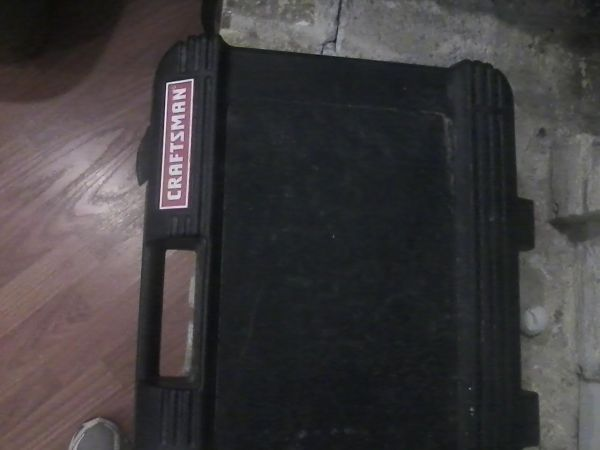 craftsman socket set w case - $100 (new caney)