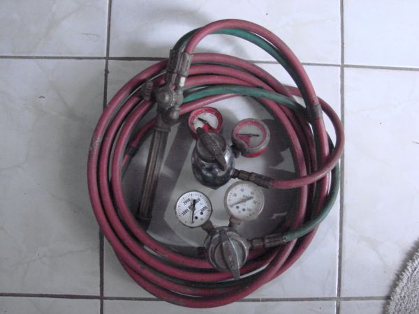 Small Uniweld Welding  Bacing Outfit Torch Set HVAC - $90 (Kingwood)
