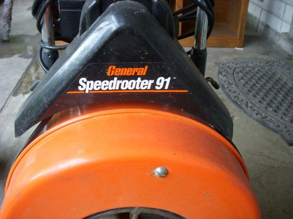 general speedrouter 91 sewer machine - $800 (290610)