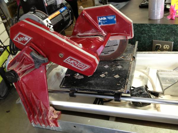 Wet tile saw MK 101 - $700 (Katy)